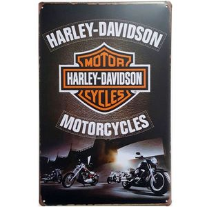 placa-decorativa-de-metal-harley-davidson-black-01