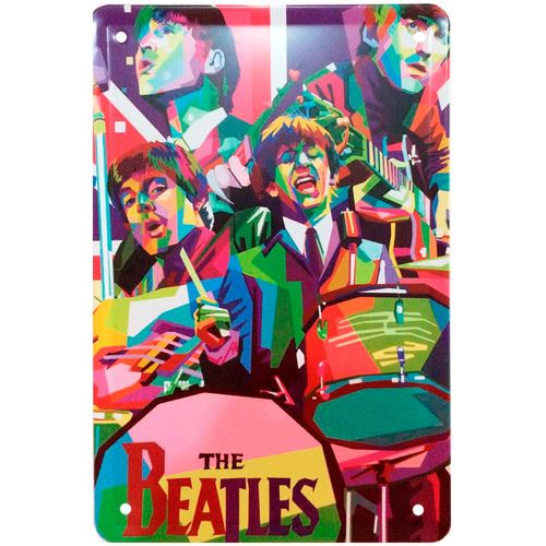 placa-decorativa-de-metal-the-beatles-colors-01