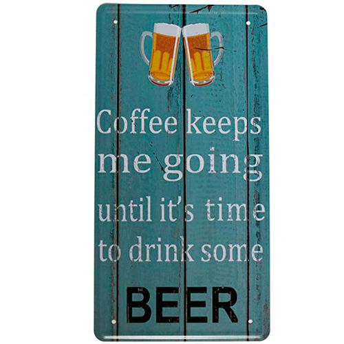 placa-de-carro-decorativa-em-metal-time-to-drink-beer-01