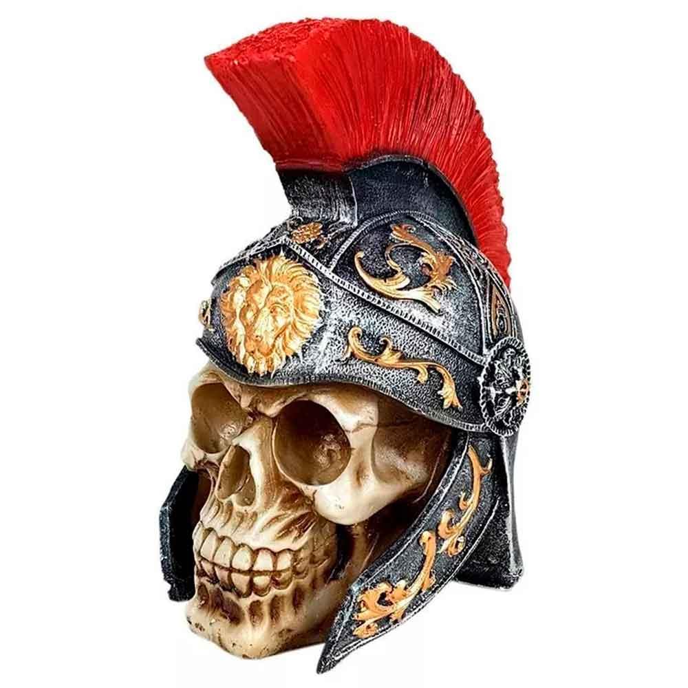caveira-resina-decorativa-soldado-romano-vermelho-01