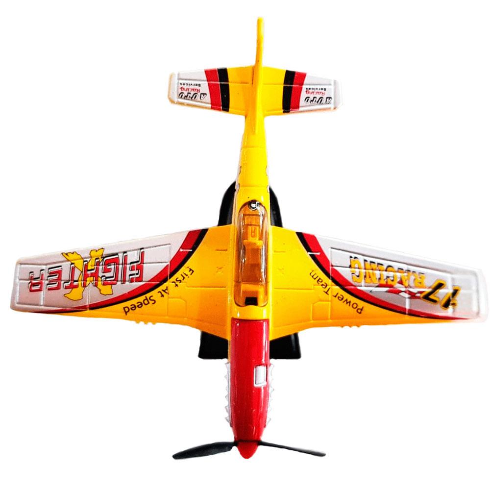 Miniatura-Colecionavel-Aeronave-Acrobacts-Amarelo-01