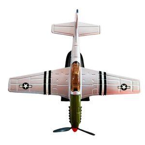 Miniatura-Colecionavel-Aeronave-Classic-Fighter-Prata-01