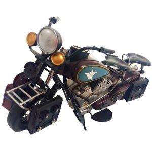 Miniatura-Motocicleta-Marrom------------------------------------------------------------------------