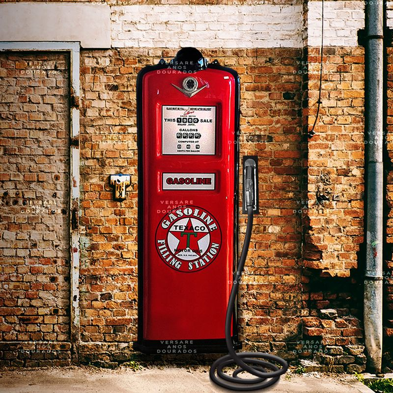 Bomba-de-combustivel-Texaco-------------------------------------------------------------------------