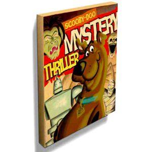 Quadro-Tela-Scooby-Doo------------------------------------------------------------------------------