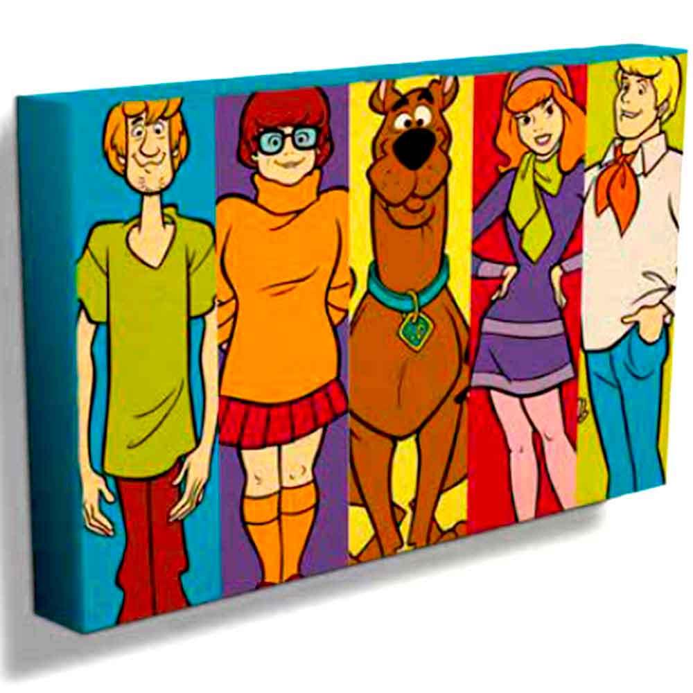 Quadro-Tela-Turma-Scooby-Doo------------------------------------------------------------------------