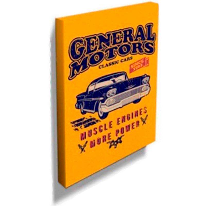 Quadro-Tela-American-Muscle-Chevrolet-Retro