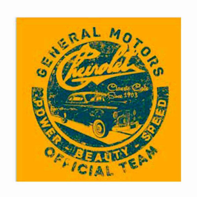 Quadro-Tela-Time-Oficial-Chevrolet-Retro------------------------------------------------------------