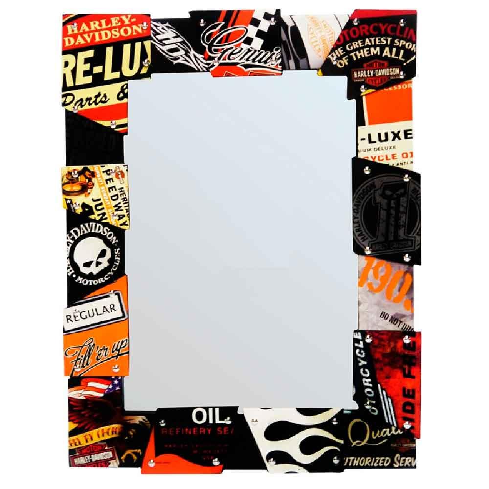 Espelho-Decorativo-Harley-Davidson------------------------------------------------------------------