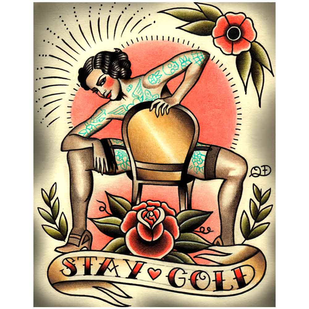 PLACA-DECORATIVA-PARA-BARBEARIAS-QUYEN-DIHN--STAY-GOLD----------------------------------------------