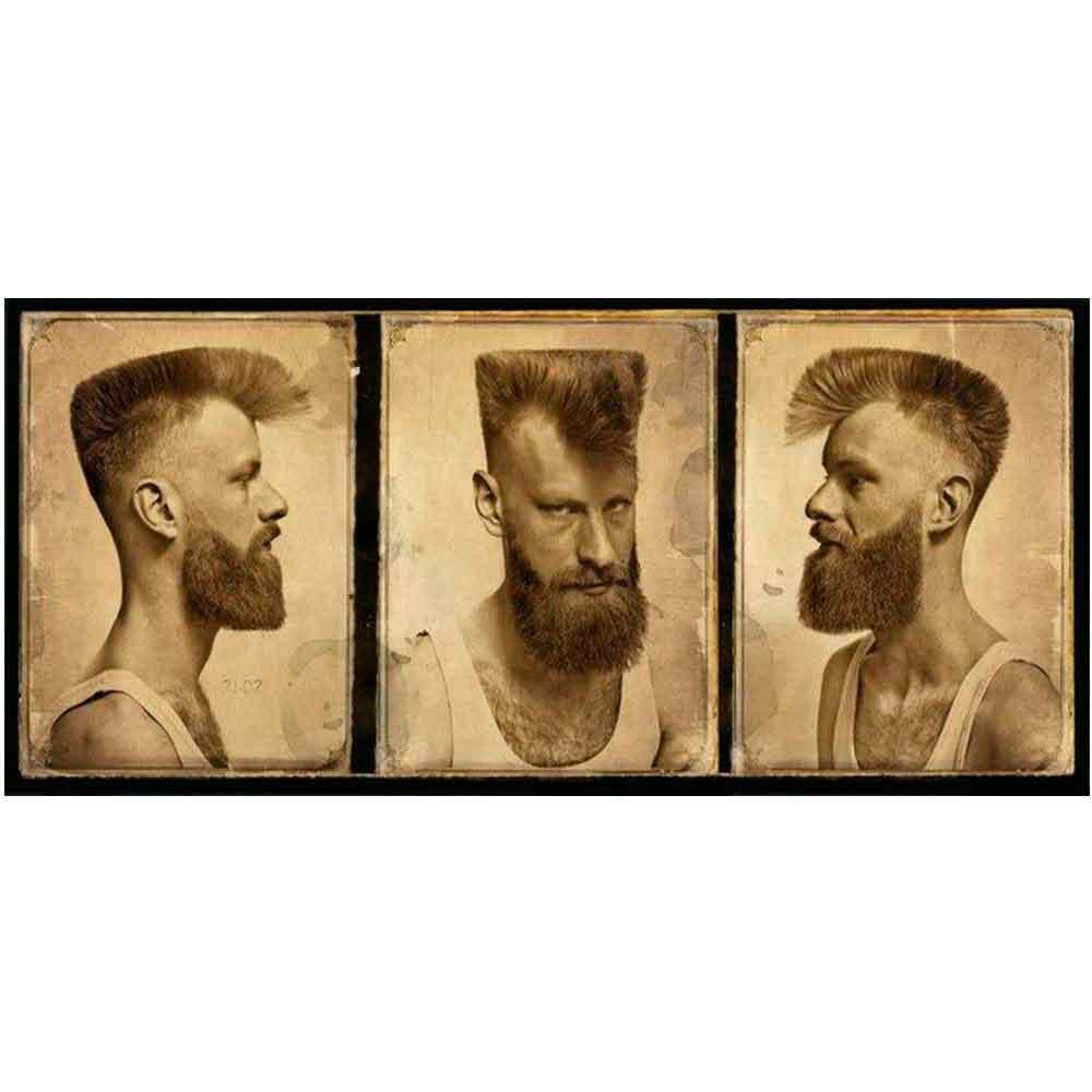 PLACA-DECORATIVA-PARA-BARBEARIAS-HAIR-STYLE-CORTE-VINTAGE-3-ANGULOS-MODELO-3------------------------
