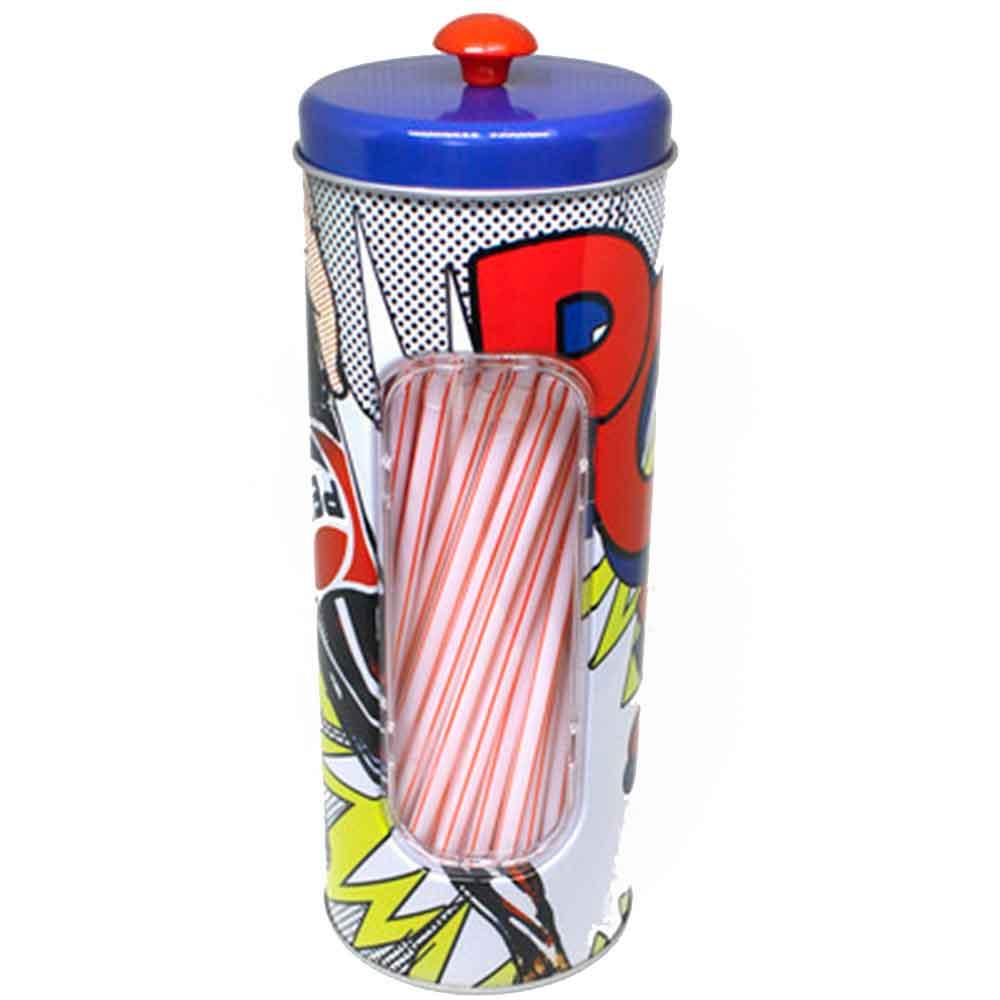 Porta-Canudo-Pepsi-Cola-Retro