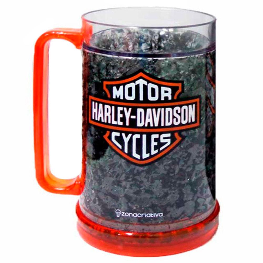 Caneco-Com-Gel-Termico-Harley-Davidson-Preta---Un