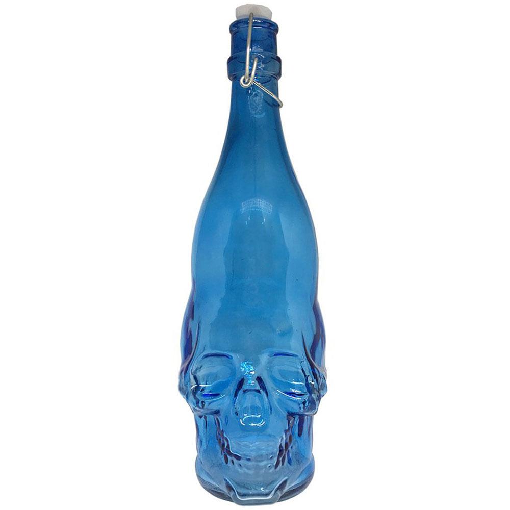 Garrafa-Caveira-Azul