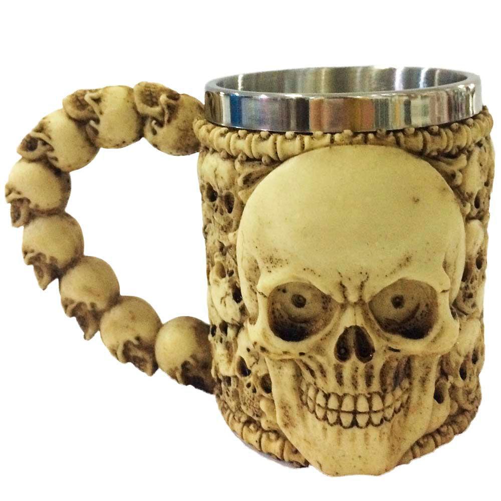 Caneca-Caveira-Esqueleto-Creme