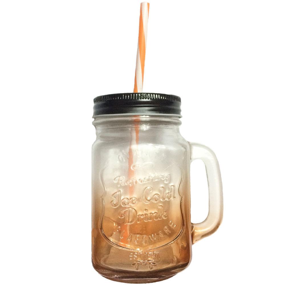 Copo-Pote-Vintage-Mason-Jar-Laranja