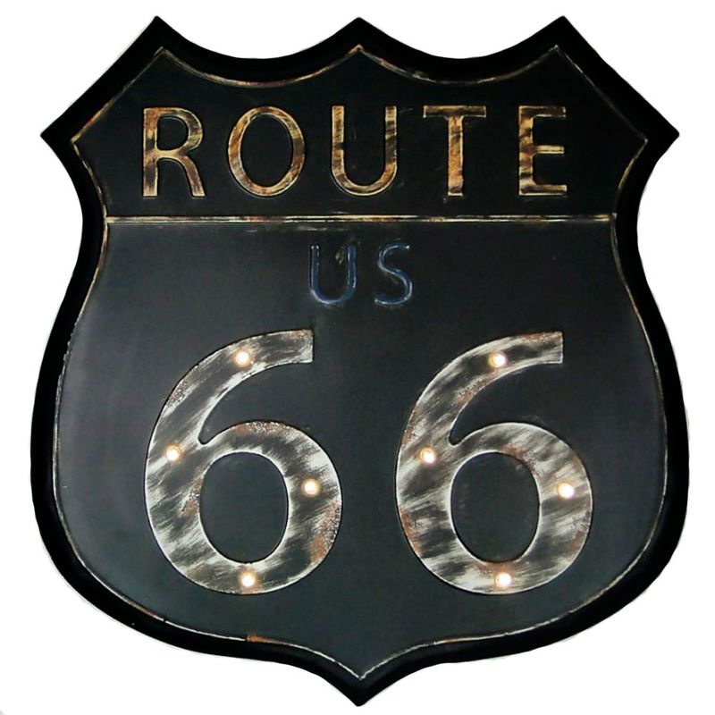 placa-decorativa--luminosa-route-66-cod-417001