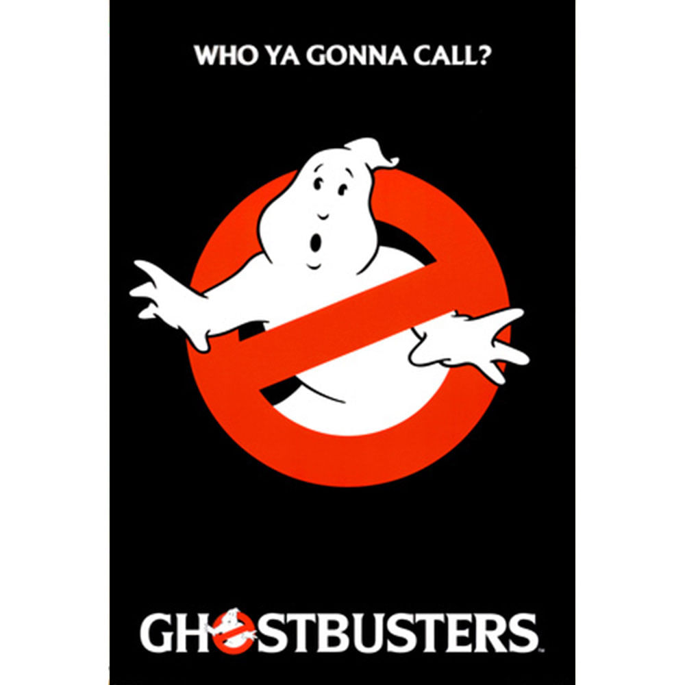 Quadro-Poster-Ghostbusters-96-X-65-Cm