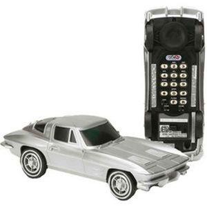 Telefone-De-Mesa-Corvette-Prata-Oficial-Gm