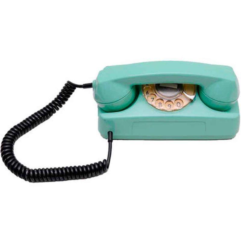 Telefone-De-Mesa-Tijolinho-Antigo-Vintage-Verde-70-s