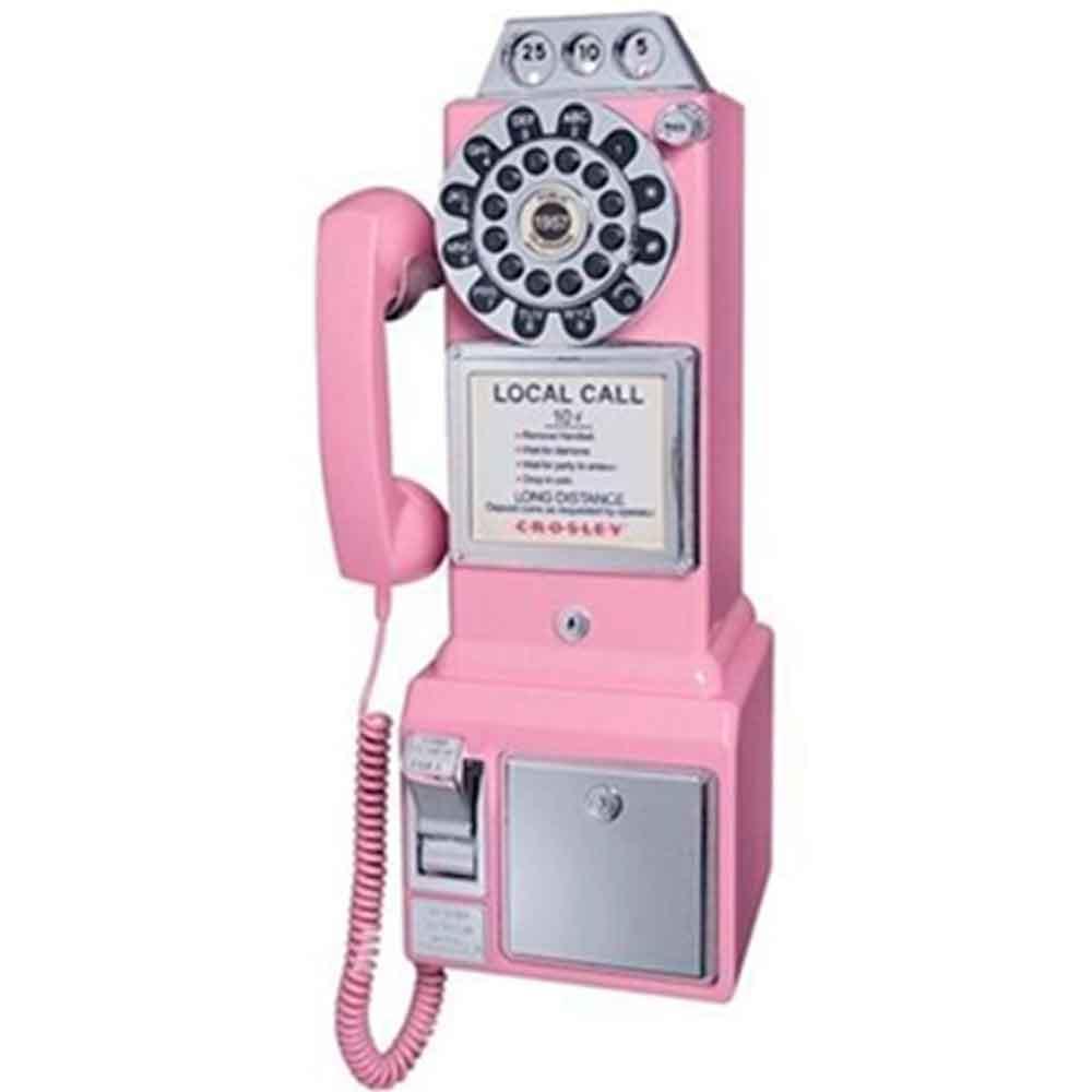 Telefone-Pay-Phone-Retro-Classic-Watson-Rosa-50-s