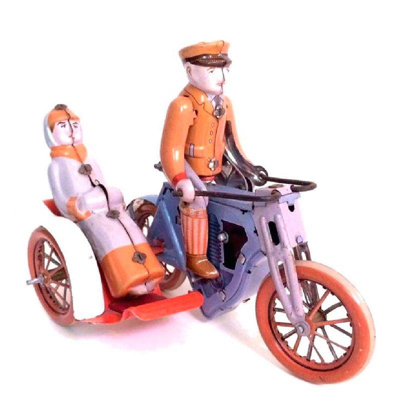 Motocicleta-Sidecar-De-Lata-Litografada-1920