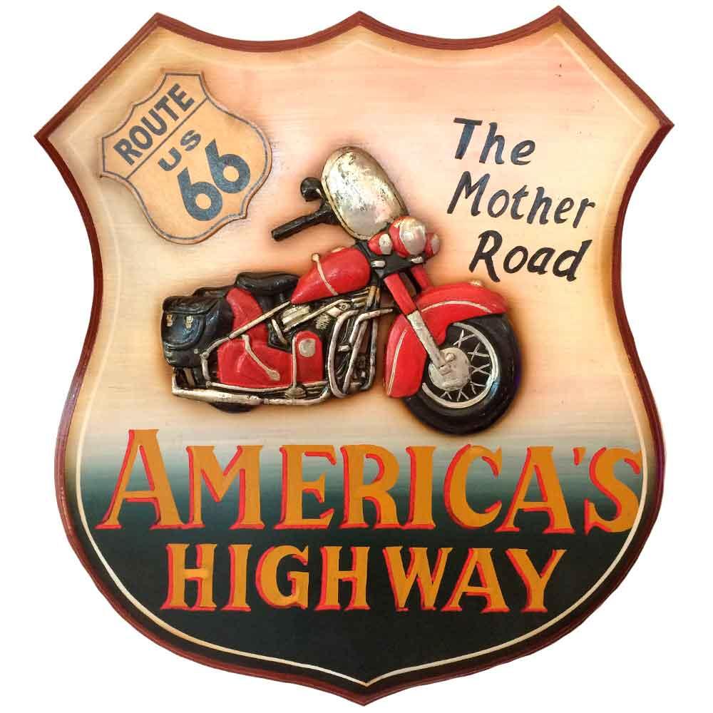 Quadro-Rota-66-America-s-Highway