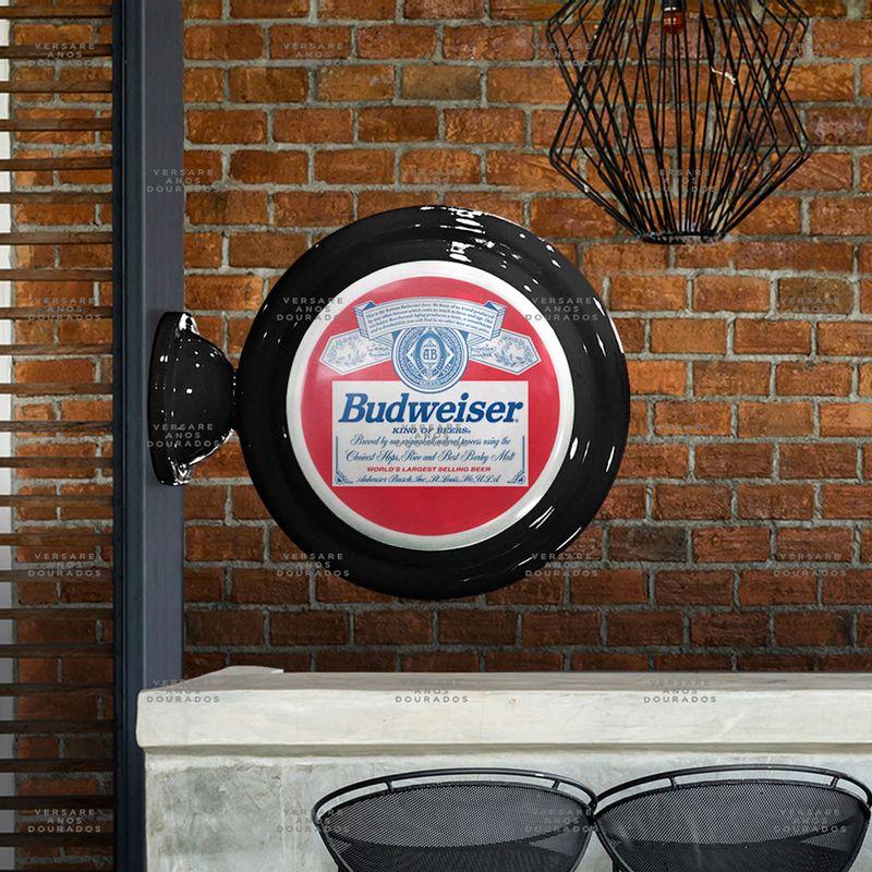 Luminaria-de-Parede-Budweiser-Tradicional-----------------------------------------------------------