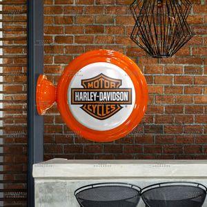 Luminaria-de-Parede-Harley-Davidson-----------------------------------------------------------------
