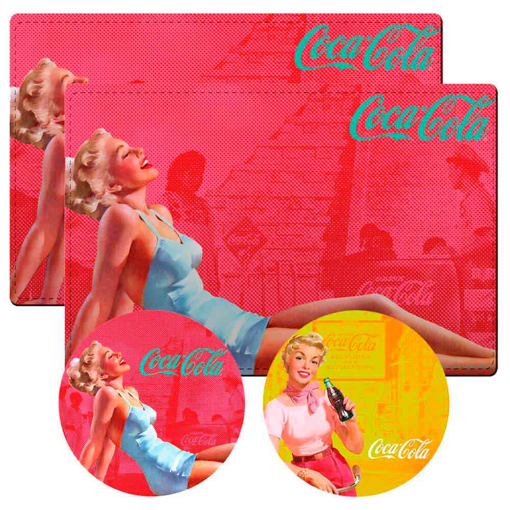 Conj-2-Jogos-Americanos-Pin-Up-Red-Coca-Cola-Retro