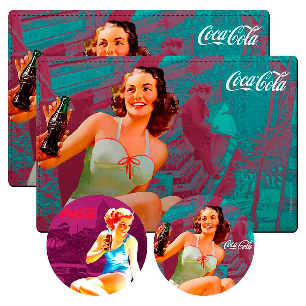 Conj-2-Jogos-Americanos-Pin-Up-Blue-Coca-Cola-Retro