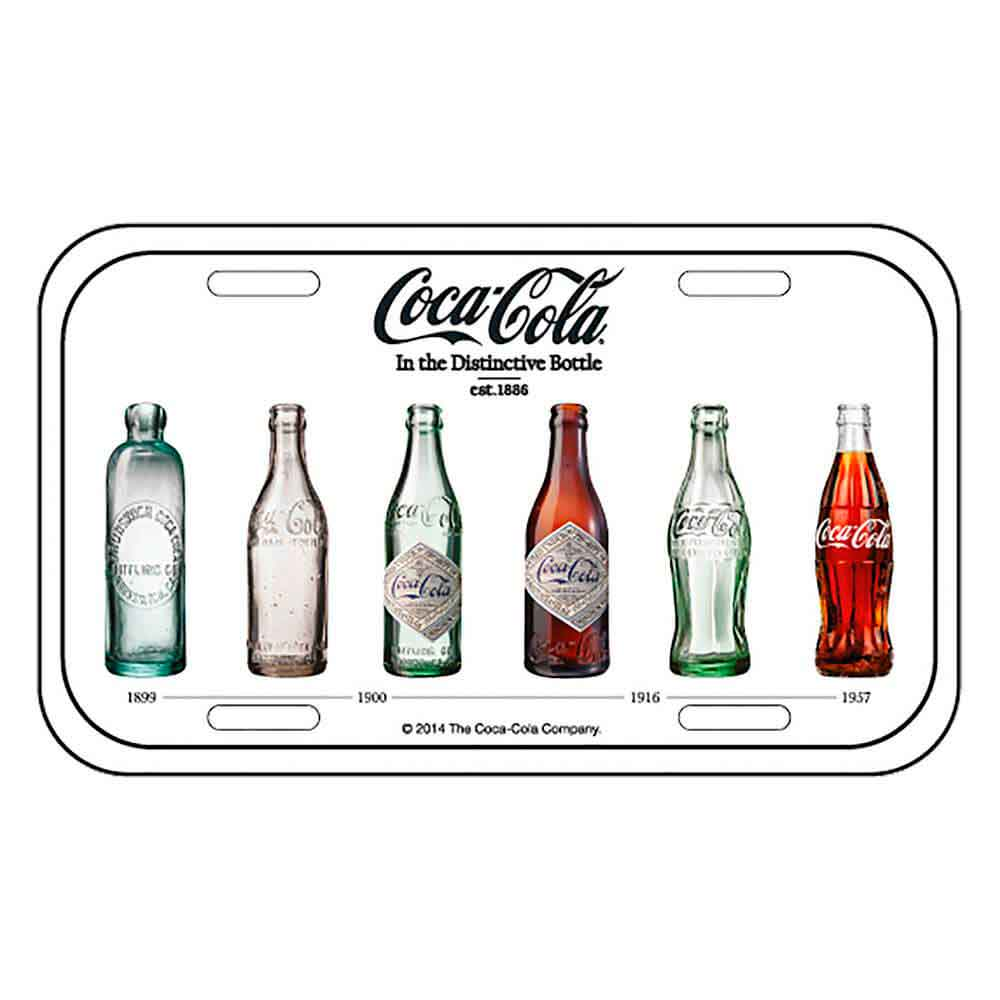 Placa-Metal-Bottle-Evolution-Coca-Cola-Retro