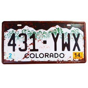 Placa-De-Carro-Decorativa-Em-Alto-Relevo-Colorado