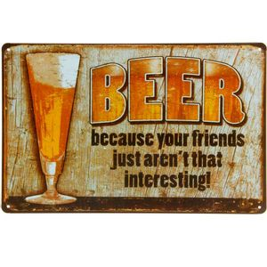 Placa-De-Metal-Decorativa-Beer-Because
