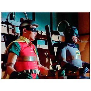 Quadro-Tela-Dc-Comics-Batman-E-Robin-Vintage-Ii