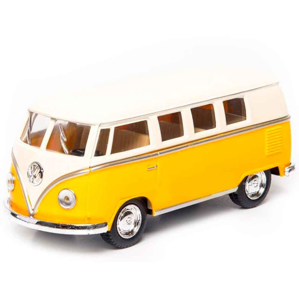 Miniatura-Kombi-1962-Escala-1-32-Amarela