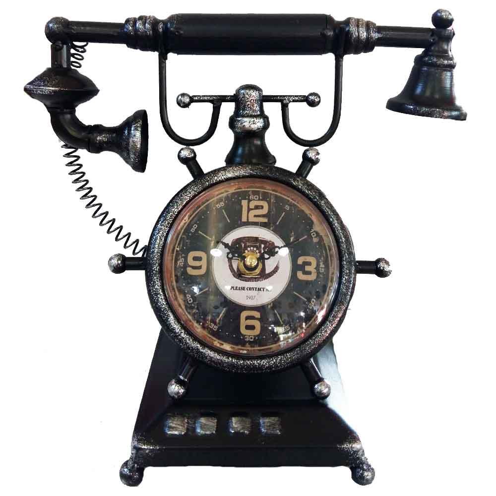 Relogio-De-Mesa-Telefone-Vintage