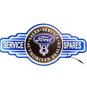 Placa-Decorativa-Mdf-Com-Led-Ford