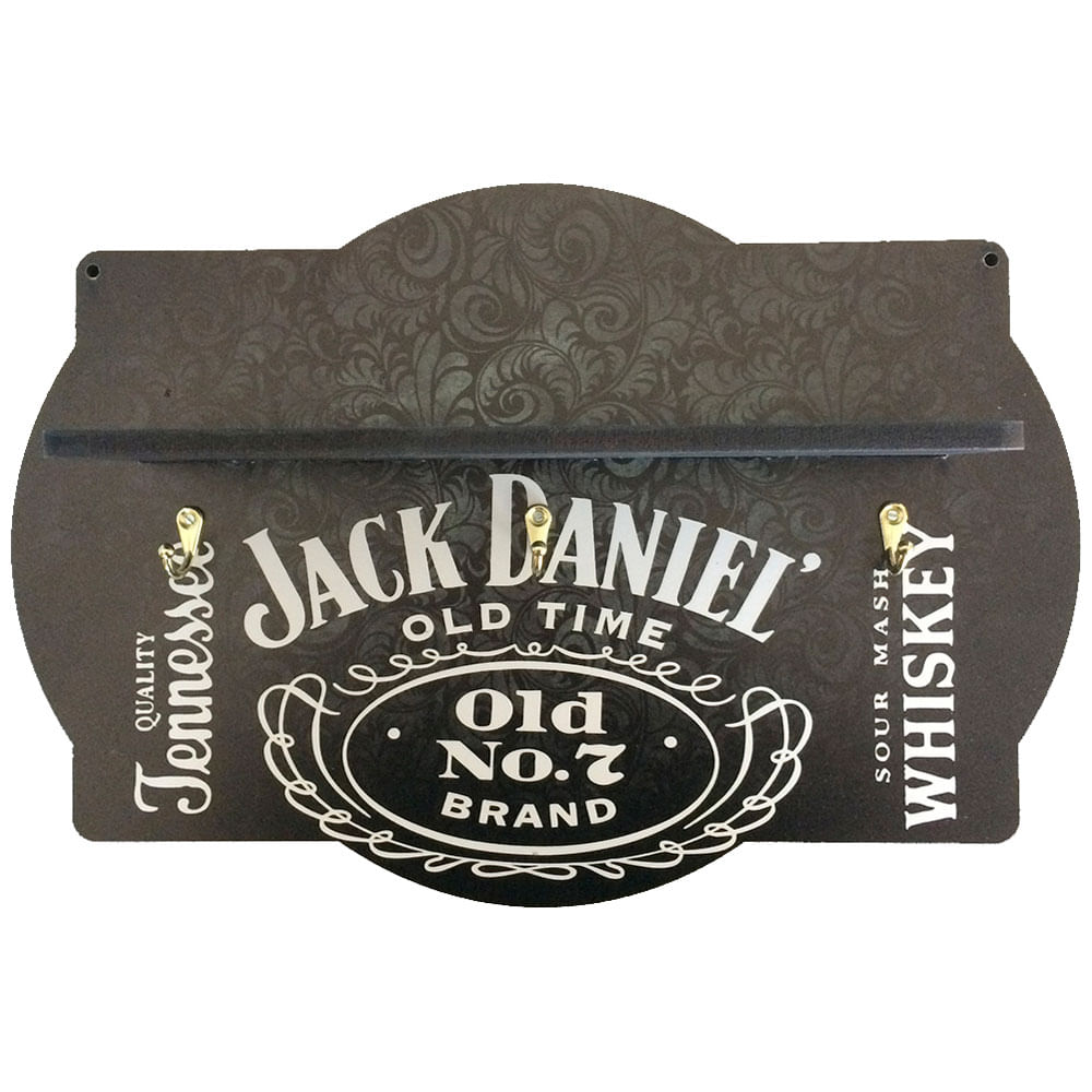 Prateleira-Porta-Tacas-Mdf-Medio-Jack-Daniels