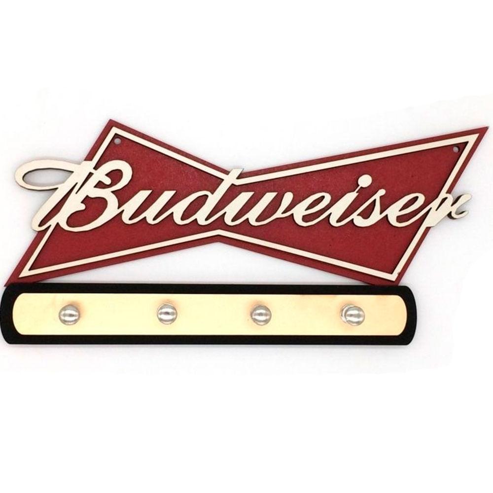 Porta-Chaves-Mdf-Budweiser