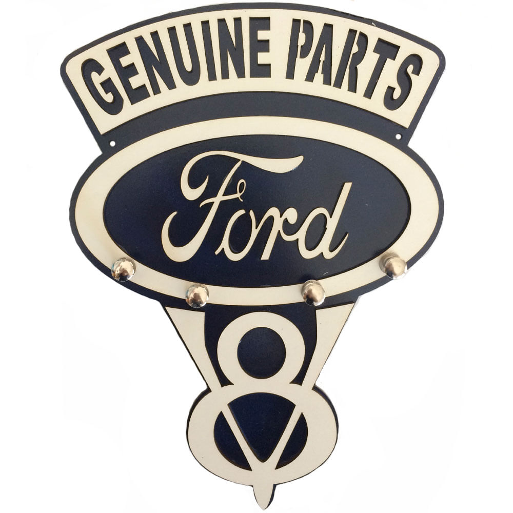 Porta-Chaves-Mdf-Ford