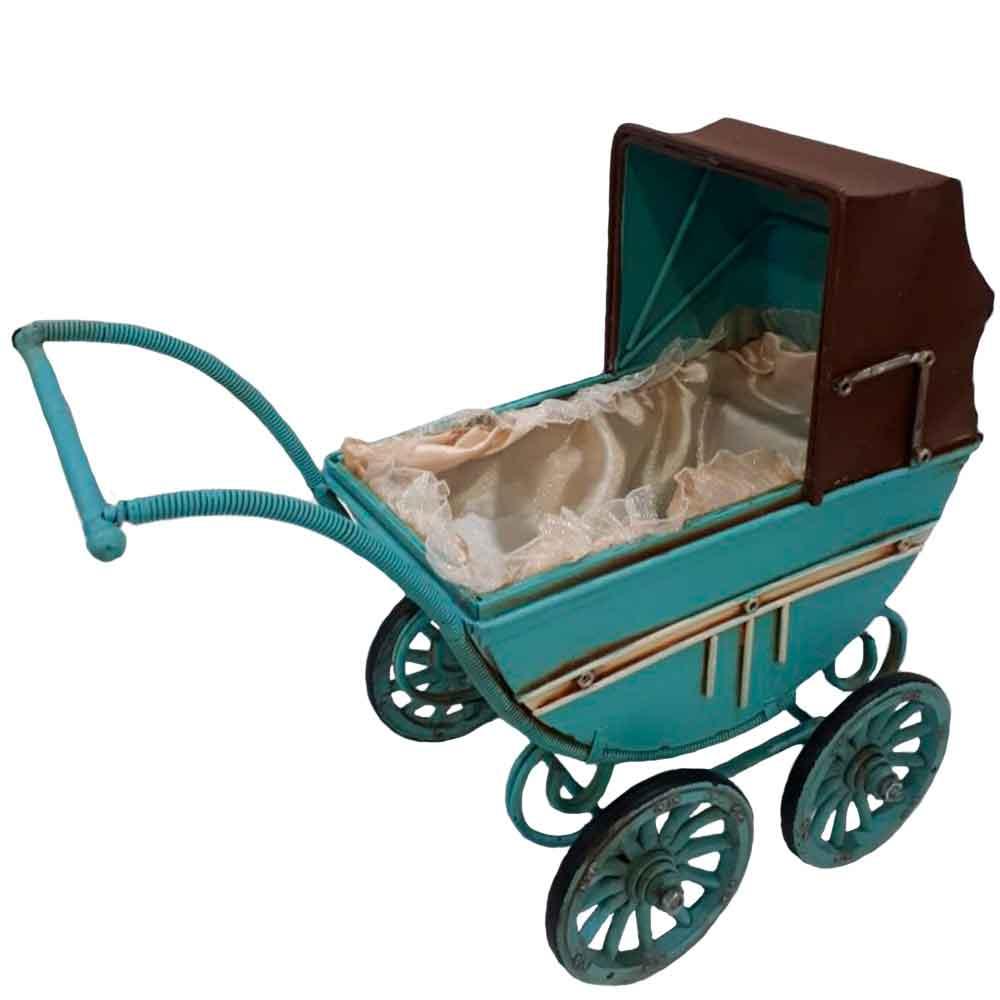 Miniatura-Carrinho-De-Bebe-Azul