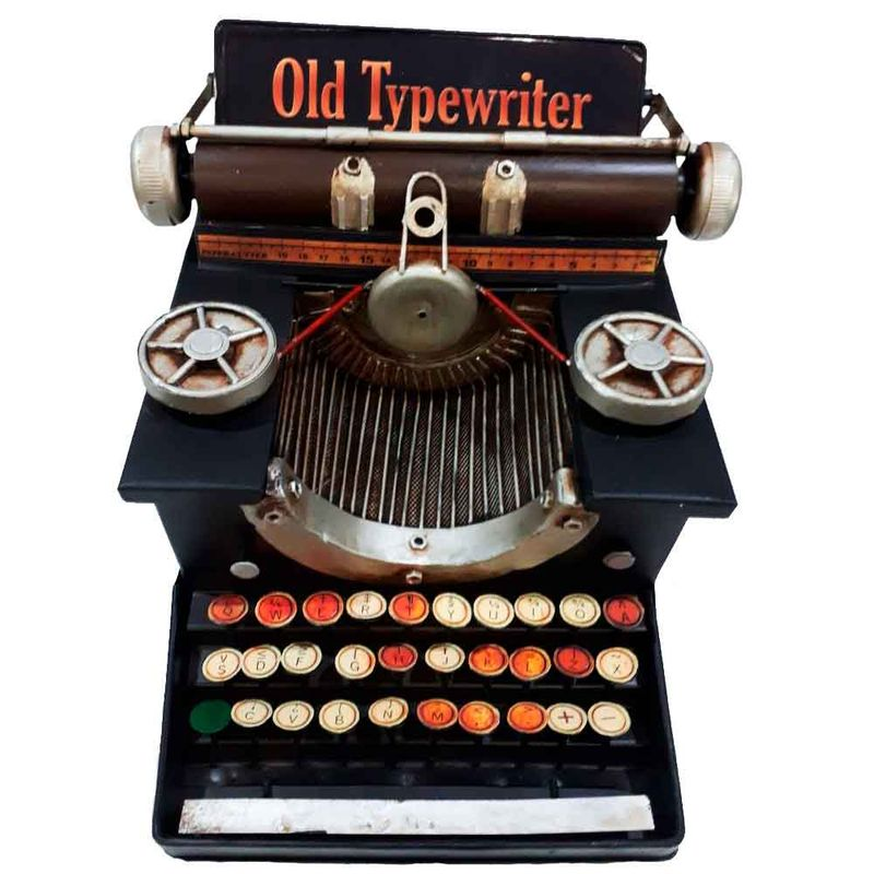 Miniatura-Maquina-De-Escrever