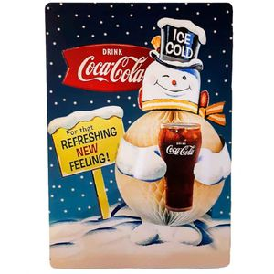 Placa-Decorativa-Mdf-Coca-Cola-For-That-Refreshing-New-Feeling