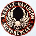 Placa-Decorativa-Mdf-Harley-Davidson-Motorcycle