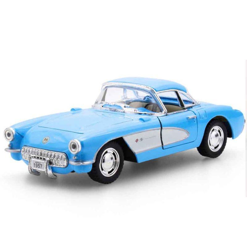 Miniatura-1957-Chevrolet-Corvette-Escala-1-34-Azul