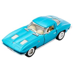 Miniatura-1963-Corvette-Sting-Ray-Escala-1-36-Azul