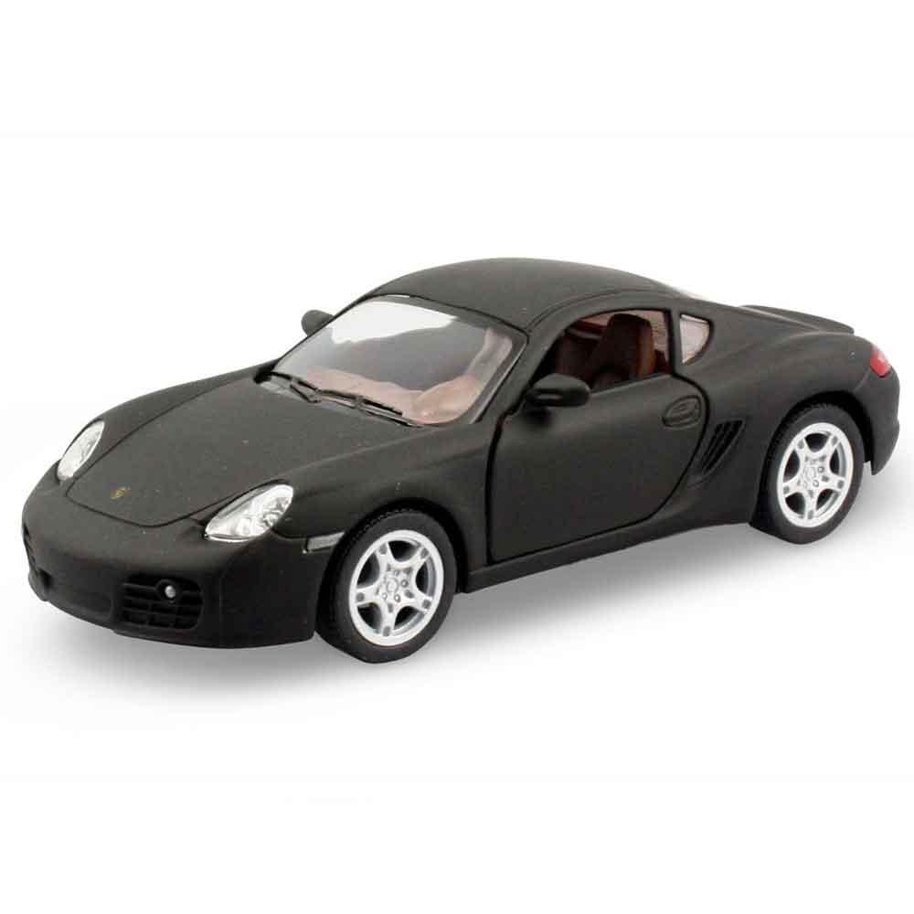 Miniatura-Porsche-Cayman-S-Escala-1-34-Preto