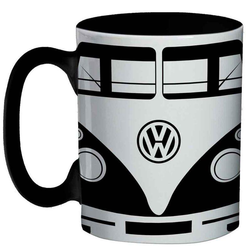Mini-Caneca-De-Porcelana-Volkswagen-Kombi-Preta-135ml
