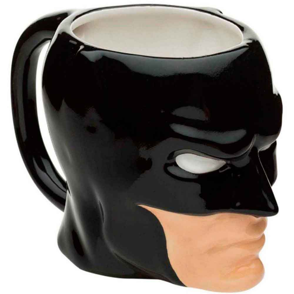 Caneca-De-Porcelana-3d-Dc-Comics-Batman-Preto-Face-480ml